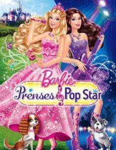 Barbie The Prenses and The Pop Star (VCD)