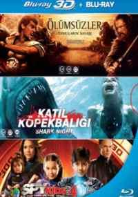 Ölümsüzler, Katil Köpekbalığı, Spy Kıds 4 (Blu Ray)
