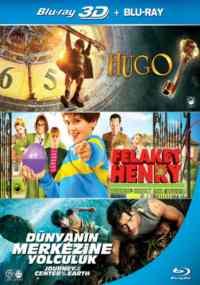 Hugo, Felaket Henry, Dünyanın Merkezine Yolculuk (Bluray)