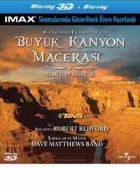 Büyük Kanyon Macerası 3D (Blu-Ray)