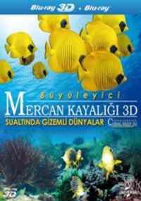 Büyüleyici Mercan Kayalığı 3D Sualtında Gizemli Dünyalar (Blu-Ray)