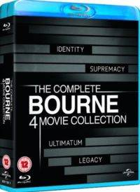 Eksiksiz Bourne 4 Film Koleksiyon - The Complete Bourne 4 Movie Collection (Blu Ray)