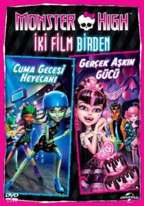Monster High İki Film Birden (DVD)