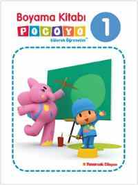 Boyama Kitabı Pocoyo 1