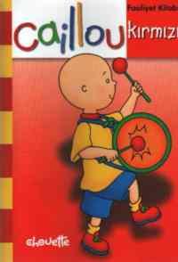 Caillou Kırmızı Faaliyet Kitabı