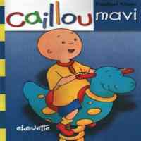 Caillou Faaliyet Kitabı - Mavi