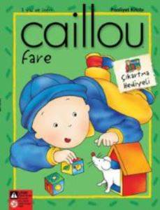 Caillou Fare Faailet Kitabı Çıkartma Hediyeli