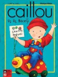 Caillou Uç Uç Böceği Faailet Kitabı Çıkartma Hediyeli