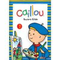 Caillou Boyama Kitabı-7
