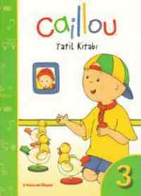 Caillou Tatil Kitabı-3
