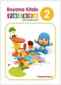 Boyama Kitabı Pocoyo 2