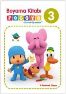 Boyama Kitabı Pocoyo 3