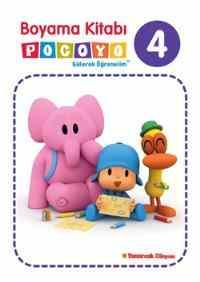 Boyama Kitabı Pocoyo 4