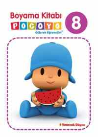 Boyama Kitabı Pocoyo 8