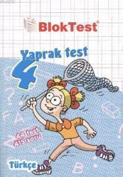 Yaprak Test 4.Sınıf-Türkçe