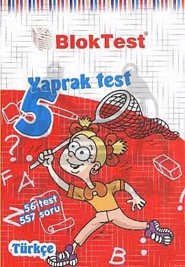 5. Sınıf Türkçe Yaprak Testi