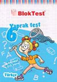 Blok Test 6.Sınıf Türkçe Yaprak Testi