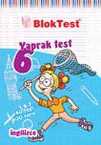 6. Sınıf İngilizce Yaprak Testi