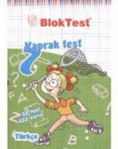 Blok Test 7.Sınıf Türkçe Yaprak Testi