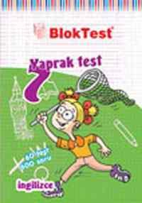 Blok Test 7.Sınıf İngilizce Yaprak Testi
