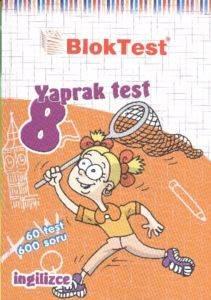 8. Sınıf İngilizce Yaprak Testleri