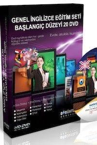Genel İngilizce Görüntülü Eğitim Seti Başlangıç Düzeyi 20 DVD
