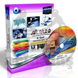 AÖF Adalet Önlisans Bölümü Ulusal Yargı Ağı Projesi Eğitim Seti 10 DVD