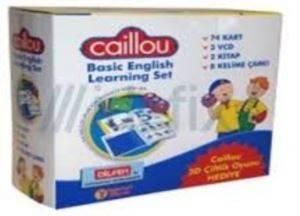 Caillou İngilizce Eğitim Seti