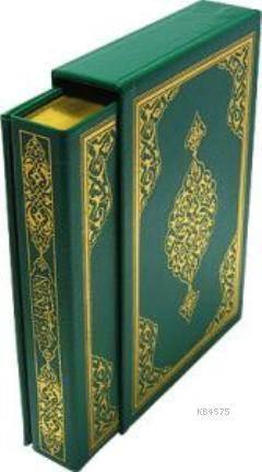 Kur'anı Kerim; (Hafız Boy, Yaldızlı Mahfazalı)