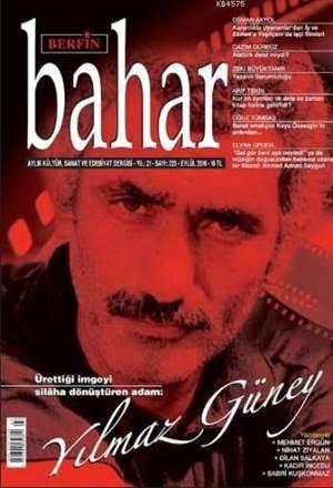 Berfin Bahar Dergisi Sayı: 223; Aylık Kültür Sanat Ve Edebiyat Dergisi