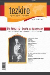 Tezkire Sayı:51 Aralık-Ocak-Şubat; I. Dünya Savaşının 100. Yılı Ve Filistin Davası