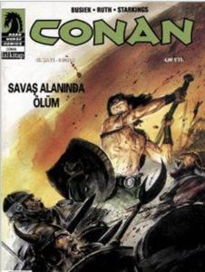 Conan 46.Sayı - 04/2008 Savaş Alanında Ölüm