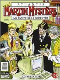 Martin Mystere 103 - Okuyabilen Kedi