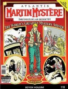 Martin Mystere 118- İmkansızlıklar Dedektifi The World's Greatest Mystery Solver