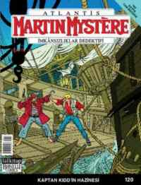 Martin Mystere Kaptan Kidd'in Hazinesi