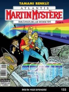 Martin Mystere-133 İris'in Yedi Efendisi