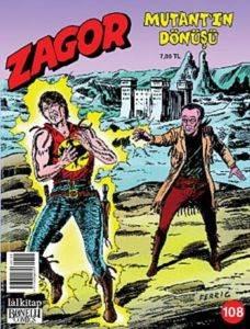Zagor 108 - Mutantın Dönüşü