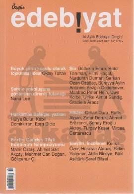 Özgür Edebiyat Sayı 13 (Ocak-Şubat 2009)
