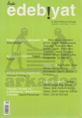 Özgür Edebiyat Sayı 11 (Eylül-Ekim 2008)