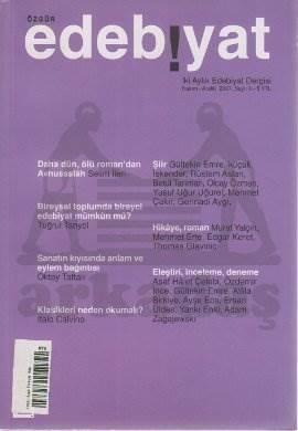 Özgür Edebiyat Sayı 06 (Kasım-Aralık 2007)