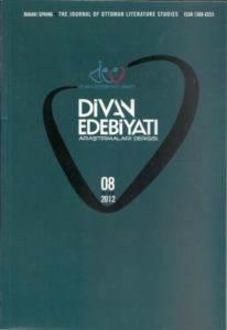 Divan Edebiyatı Araştırmaları Dergisi 2012