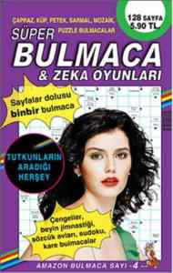 Amazon Bulmaca Sayı-4