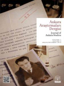 Ankara Araştırmaları Dergisi Cilt 1 Sayı 2