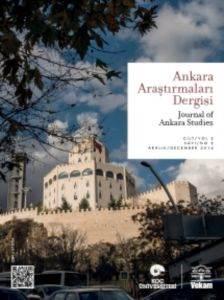 Ankara Araştırmaları Dergisi Cilt 2 Sayı 2