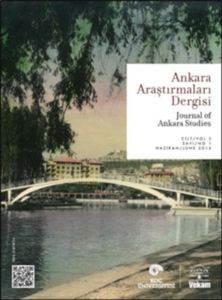 Ankara Araştırmaları Dergisi Cilt 3 Sayı 1