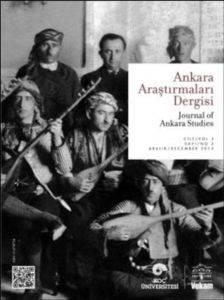 Ankara Araştırmaları Dergisi Cilt 3 Sayı 2