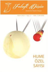 Felsefe Düşün Akademik Felsefe Dergisi