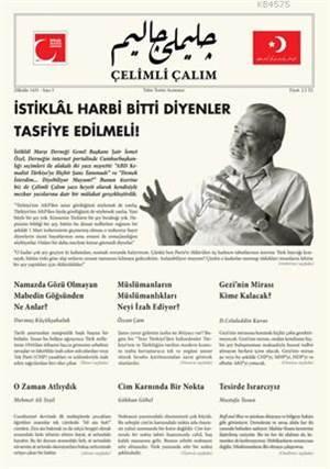Çelimli Çalım; Türk Milliyetçilerinin Mecmuası Yıl: 1  Sayı: 3