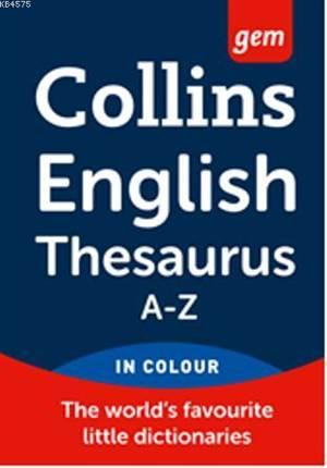 Collins Gem English Thesaurus A-Z
