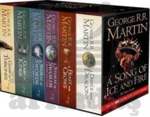 A Song of Ice and Fire - A Game of Thrones: The Story Continues [Export only]: The complete box